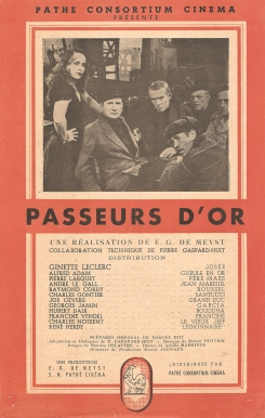 Passeurs d'or (Pathé, 1948). France DP.