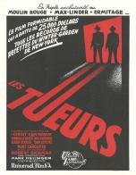 Les tueurs (Universal, 1947). France publicité. ©collection Jérôme Rouault