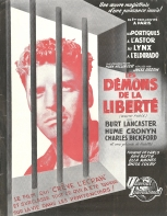 Les démons de la liberté (Universal, 1948). France Publicité. ©collection Jérôme Rouault