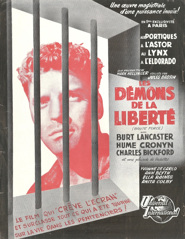 Les démons de la liberté (Universal, 1948). France Publicité.