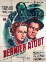 Dernier atout (1942) France 120 x 160.