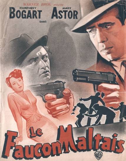 Le faucon Maltais (Warner Bros, 1945). France DP.