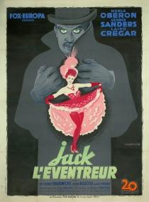 Jack l'éventreur (20th Century Fox, 1946). France 120 x 160.