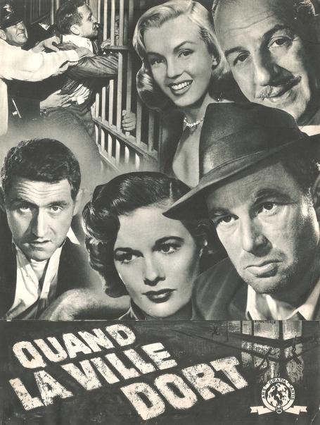 Quand la ville dort (MGM, 1950). France DP.