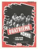 Le quatrième homme (Artistes Associés, 1953). France DP. ©collection Jérôme Rouault