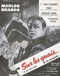 Sur les quais (Columbia, 1955). France publicité.