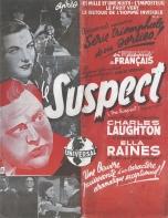 Le suspect (Universal, 1946). France Publicité. ©collection Jérôme Rouault