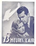 13 heures dans l'air (Paramount, 1936). France DP.