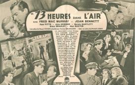 13 heures dans l'air (Paramount, 1936). France scénario. ©collection Jérôme Rouault