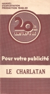Le charlatan (20th Century Fox, 1948). France DP.