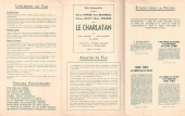 Le charlatan (20th Century Fox, 1948). France DP. ©collection Jérôme Rouault
