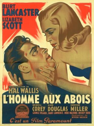 L'homme aux abois (Paramount, 1949). France 60 x 80. ©collection Jérôme Rouault