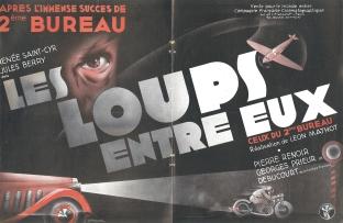 Les loups entre eux (CFC, 1936). France Publicité. ©collection Jérôme Rouault