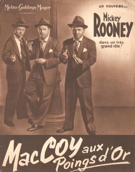 Mac Coy aux poings d'or (MGM, 1948). France DP. ©collection Jérôme Rouault
