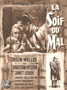 La soif du mal (Universal, 1958). France DP. ©collection Jérôme Rouault