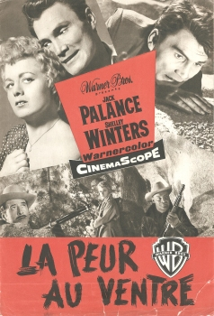 La peur au ventre (Warner Bros, 1956). France DP.