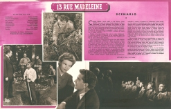 13 rue Madeleine (20th Century Fox, 1947). France DP.