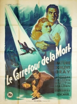 Le carrefour de la mort (20th Century Fox, 1948). France 120 x 160 Mod B.
