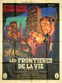 Les frontières de la vie (Columbia, 1954). France 120 x 160.