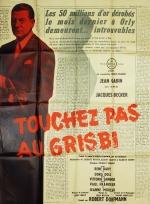 Touchez pas au grisbi (Del Duca, 1954). France 120 x 160 Mod A.