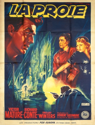 La proie (20th Century Fox, 1949). France 120 x 160.