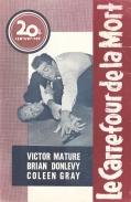 Le carrefour de la mort (20th Century Fox, 1948). France DP.