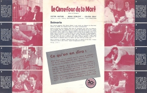 Le carrefour de la mort (20th Century Fox, 1948). France DP.