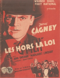 Les hors la loi (Warner Bros. First National, 1935). France tract.