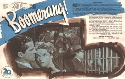 Boomerang (20th Century Fox, 1947). France DP.