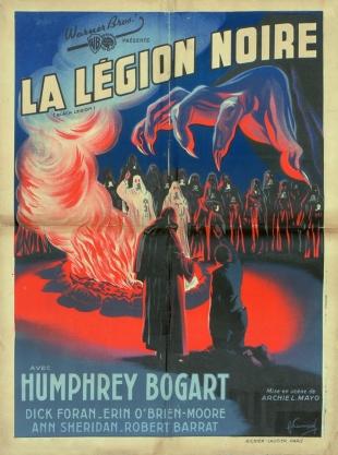 La légion noire (Warner Bros. First National, 1937). France 60 x 80.