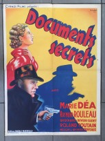 Documents secret (Cyrnos, 1942). France 60 x 80.