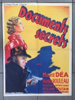 Documents secret (Cyrnos, 1942). France 60 x 80.