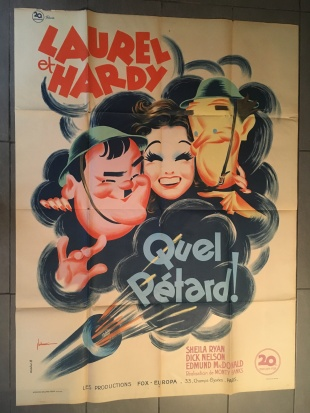 Quel pétard! (20th Century Fox, 1947). France 120 x 160 Mod B.