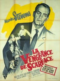 La vengeance de Scarface (RKO, 1957). France 120 x 160.
