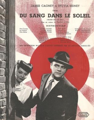 Du sang dans le soleil (Artistes Associés, 1946). France scénario.