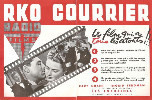 Les enchaînés (RKO, 1948). France publicité