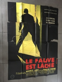 Le fauve est lâché (Gaumont, 1959). France 120 x 160 Mod A.