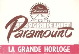 La grande horloge (Paramount, 1949). France DP.