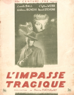 L'impasse tragique (20th Century Fox, 1947). France DP.