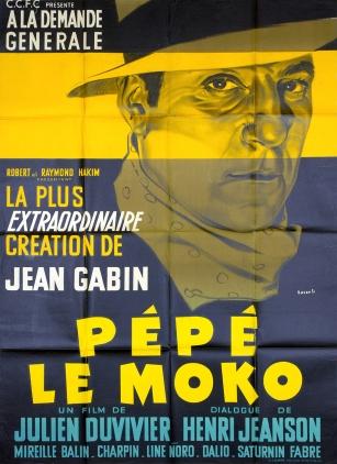 Pépé le moko (CCFC, R-50's). France 120 x 160.