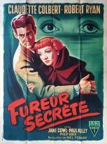 Fureur secrète (RKO, 1951). France 120 x 160.