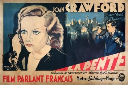 La pente (MGM, 1931). France 240 x 160.
